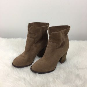 Altar'd State Faux Suede Boots Size 7.5